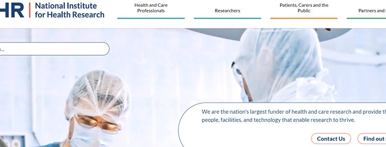 Featured image National Institute for Health Research (NIHR)