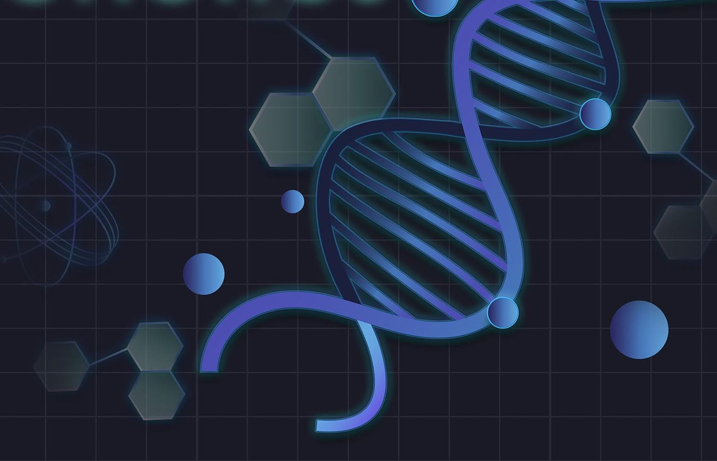 Double helix image