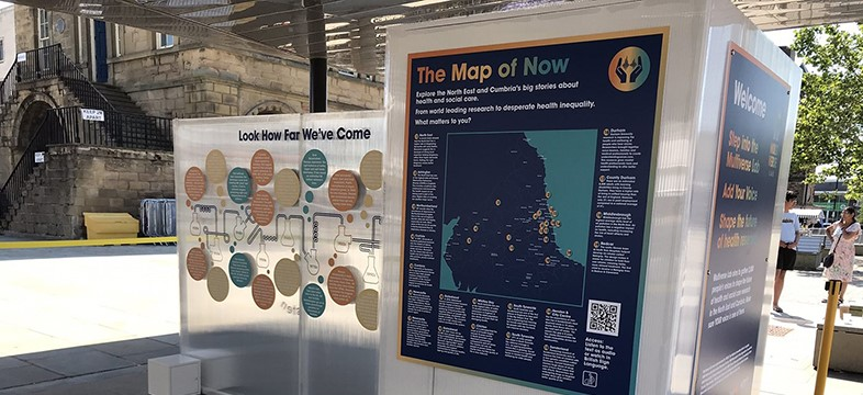 Multiverse Lab in South Shields - The Map of Now